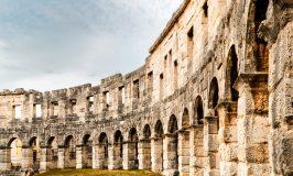 جزئیات معماری سالن آمفی تئاتر روم