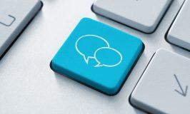 کلیدی رسانه های اجتماعی با حباب دو سخنرانی