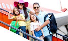 خانواده و سفر با هواپیما